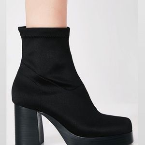 b022fd0c10ce Current Mood Shoes - Current Mood Tension Boots in Black